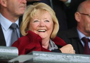 Ann Budge is hatching a plan to avoid the drop (PA)