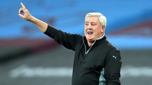 Newcastle head coach Steve Bruce intends to play attacking football this season (Adam Davy/PA)