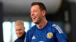 Euro hopes: Callum McGregor wants to play on the big stage