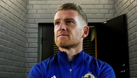 Steven Davis is predicting big things ahead of Northern Ireland and he's not intending to hang his boots up any time soon. Pic: INPHO/Presseye/William Cherry