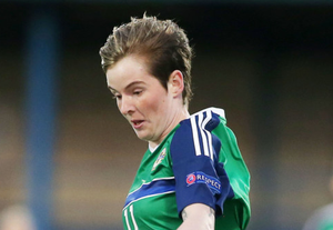 Kirsty McGuinness is back in training with Northern Ireland.