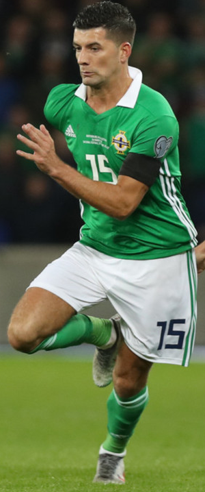 Welcome return: Jordan Jones is back in the Northern Ireland squad