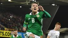 Go ahead and jump: Steven Davis is hoping to hit more heights with Northern Ireland