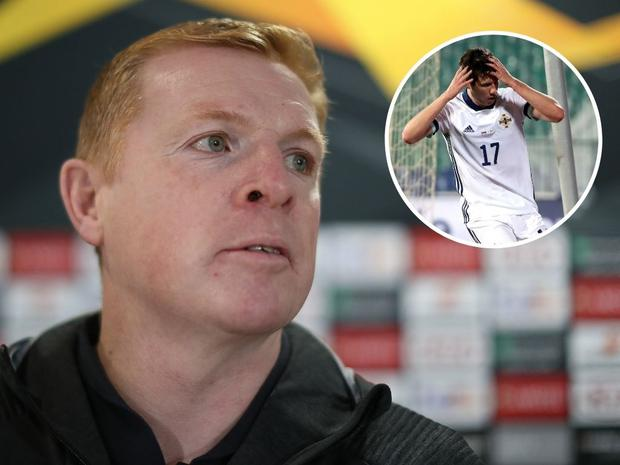 Neil Lennon did not hold back on his criticism of Northern Ireland's second half performance in Bulgaria.