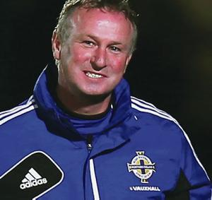 Michael O'Neill's side will face Uruguay in May