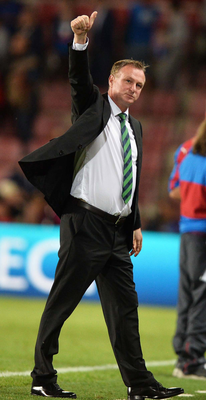 Hot property: Northern Ireland's Michael O'Neill