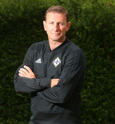 Big goal: Ian Baraclough wants to manage at the highest level