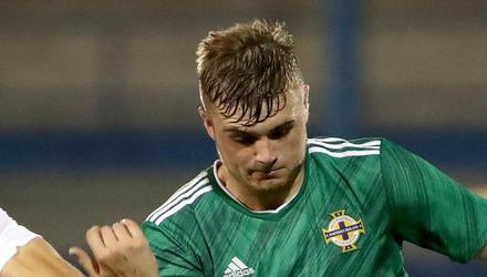 Ryan Waide insists Northern Ireland's Under-21s can pull off a shock in Seville. Credit: William Cherry/Presseye