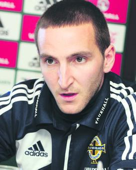 Martin Paterson is determined to score goals for Northern Ireland