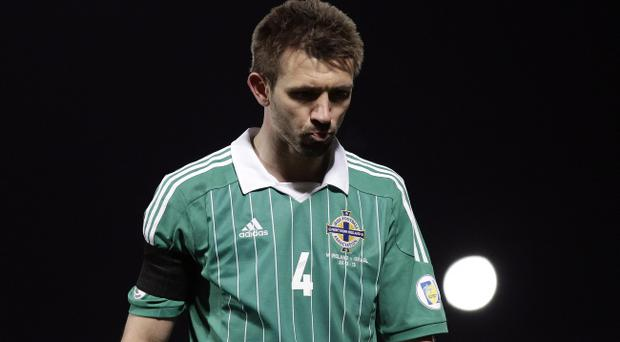 Gareth McAuley: 'It used to be 'we'll support you evermore' but it doesn't seem to be that way any more.'