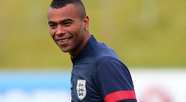 Ashley Cole will lead the England team out against the Republic of Ireland tonight at Wembley