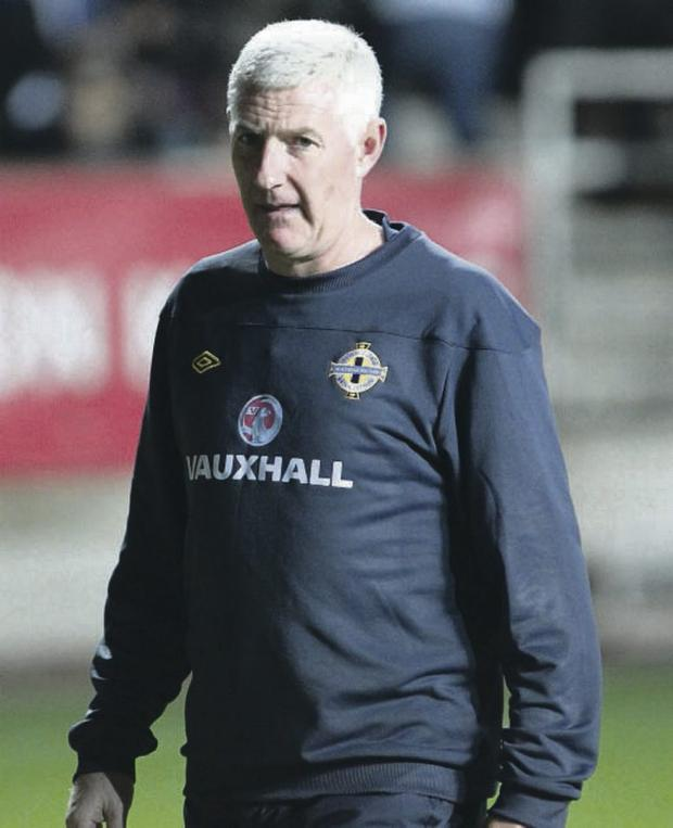 Northern Ireland fans turned on Nigel Worthington