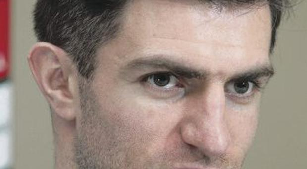 Out of position: Aaron Hughes has been playing right-back
