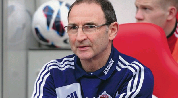 Martin O'Neill has been tipped to take over as Republic of Ireland manager