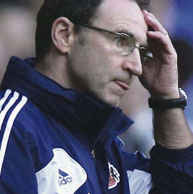 Favourite: Martin O'Neill is in pole position to be the next Republic boss