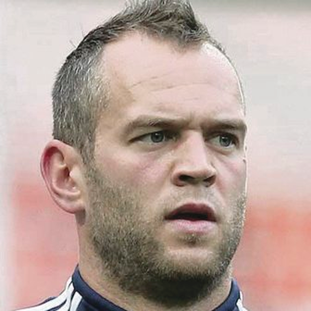 Club regular: Alan Mannus is first choice at St Johnstone