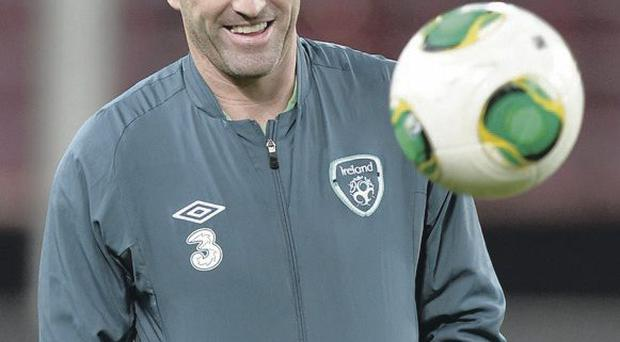 Robbie Keane will captain the Republic of Ireland tonight as they play Kazakhstan