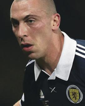 Future hopes: Scott Brown wants 2016 Euros qualification