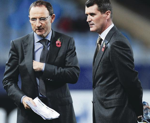 Double act: Roy Keane and Martin O'Neill have the X-factor and will make playing for the Republic appealing