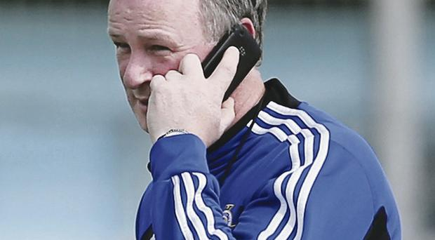 Sticking to his guns: Michael O'Neill has chosen not to call upon any available players from his stand-by list