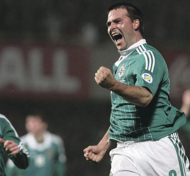 Hero: From goalscoring sensation to an inspirational coach, David Healy could prove to be a big hit with Northern Ireland's kids