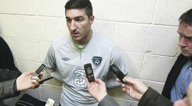 In the spotlight: Stephen Ward has returned to the Republic's squad after a period out under the previous manager