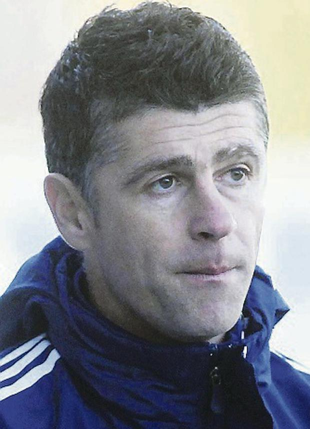 Aiming high: Stephen Robinson has faith in his under-17 squad