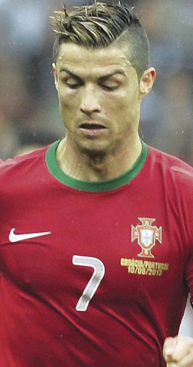 Real deal: Cristiano Ronaldo will seek to inspire Portugal
