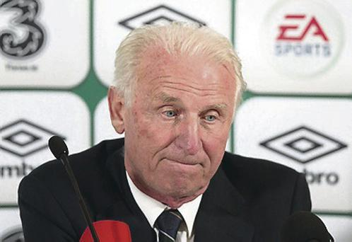Giovanni Trapattoni's rave reviews during the summer of 2010 coincided with speculation linking Kevin Doyle with a series of clubs including Arsenal