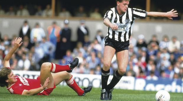 True talent: Paul Gascoigne was a footballing genius