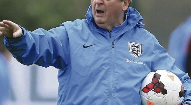 Moving on: Roy Hodgson has ruled out a return for John Terry
