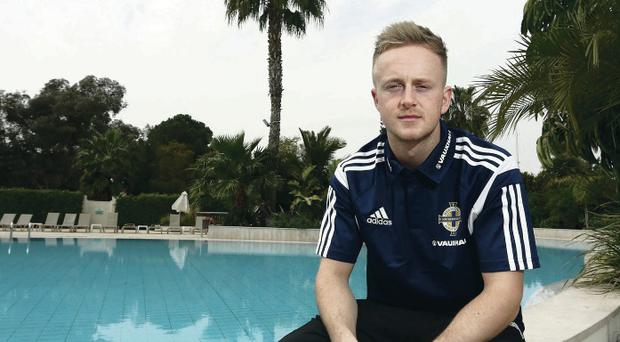 Ben Reeves has found integrating with the Northern Ireland squad to be easy after earning his first call-up