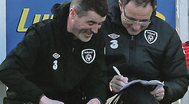Roy Keane has enjoyed his short spell as Martin O'Neill's assistant manager in the Republic of Ireland set-up PA