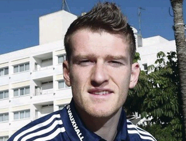Good mates: Steven Davis was with Kyle Lafferty at Rangers
