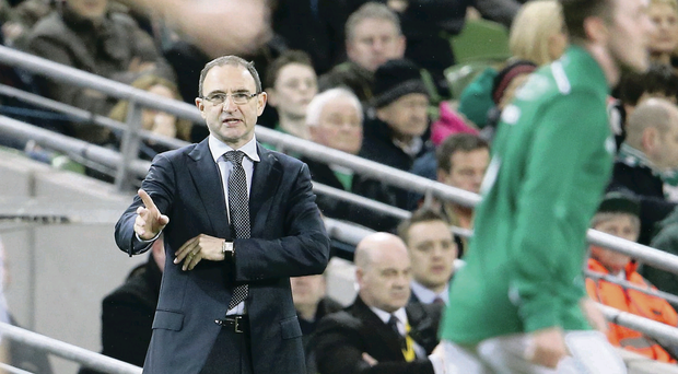 Martin O'Neill refused to be downcast after the Republic's midweek defeat to Serbia in Dublin