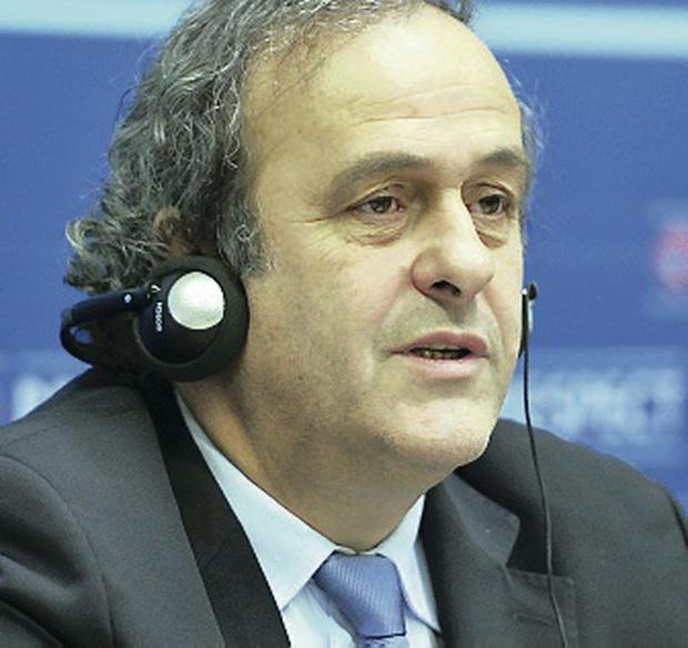 Bold move: Michel Platini wants to see the end of friendly games