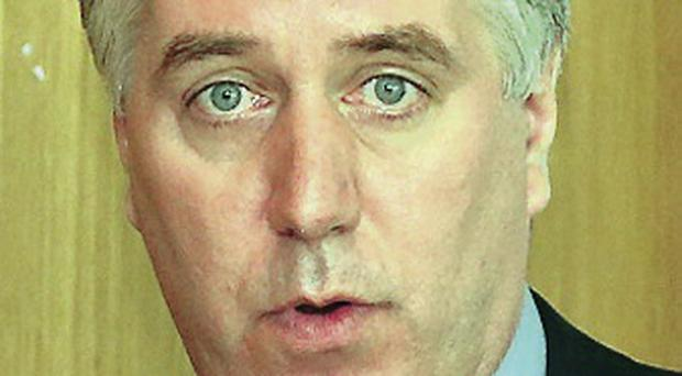 Battle stations: John Delaney is ready to face local opponents