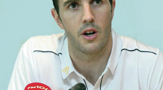 Keeping positive: John O'Shea saw encouraging signs during the Republic's loss to Turkey but said they must be more decisive