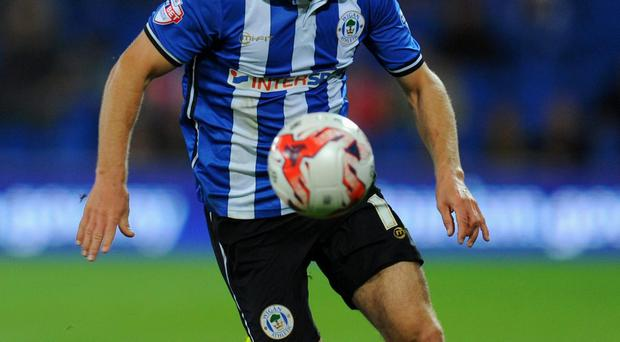 James McArthur in action for Wigan