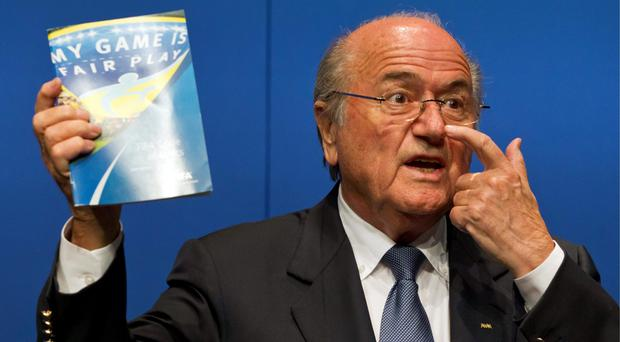 Closed case: Sepp Blatter says the investigation into 2018 and 2022 World Cup bidding will not be reopened despite complaint