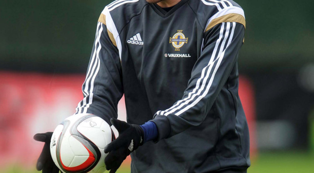 Road to redemption: Kyle Lafferty has rediscovered his best form for Northern Ireland in the Euro 2016 qualifiers