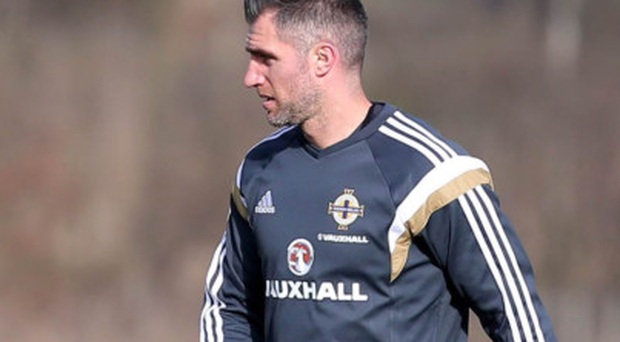 Aaron Hughes will make his first appearance at Hampden Park this week