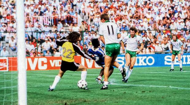 Sunday best: a 4-1 defeat to France at the 1982 World Cup was Northern Ireland's most famous Sunday fixture — until now