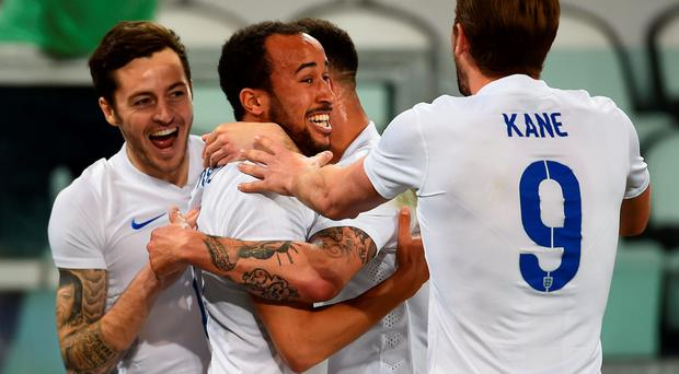 Andros Townsend is hailed after his leveller for England against Italy
