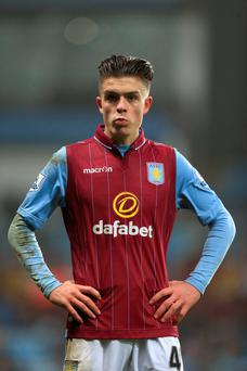 Uncertain: Aston Villa's Jack Grealish