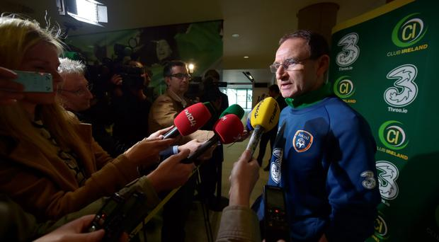 Martin O'Neill is confident the match will be played in good spirits