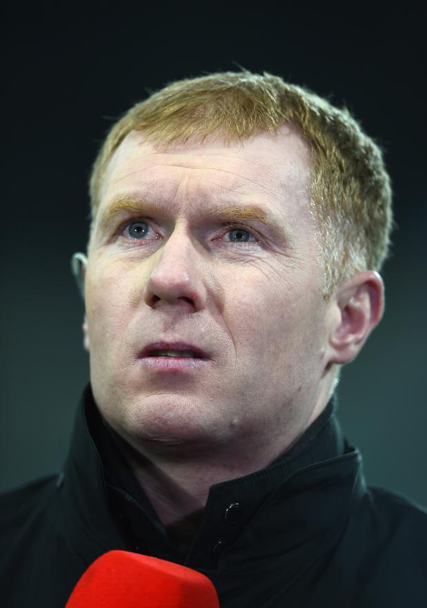 Pundit Paul Scholes bemoaned the lack of quality