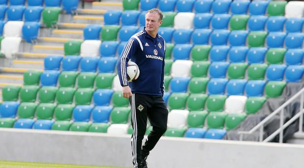 Miracle worker: Michael O'Neill has steered Northern Ireland from 129th to 37th in the world in less than three years
