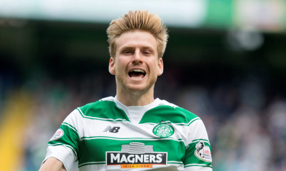 Call up: Stuart Armstrong could win a first Scotland cap