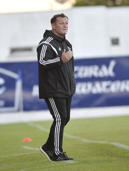 Big challenge: Jim Magilton is looking for first qualifying win
